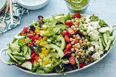 Loaded Power Salad via What's Gaby Cooking