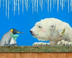 Signed Art prints by artist and humorist Will Bullas. by WillBullasStudio Bar Art, Animal Drawings, Etsy Seller, Art Prints, Handmade Gifts, Artist, Animals, Vintage, Art Impressions