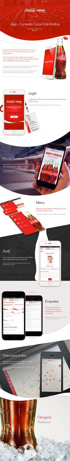 Conexão Coca-Cola Andina | Mobile App on Behance