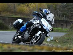 ▶ 2015 Kawasaki Versys 650 LT First Ride - MotoUSA - YouTube