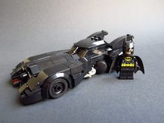 Baukästen & Konstruktion LEGO Bauanleitungen Lego Batman TRU Bat Car Parts List With Building Instructions And Mini Poster