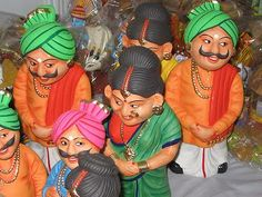 Kondapalli toys-chiseled out of locally available special light softwood and painted with vegetable dyes, and vibrant enamel colours are world famous artistic wonders.