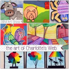 Charlotte's Web art projects - farms, county fairs, etc