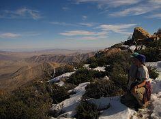 Garnet Peak, Laguna Mountains, San Diego County