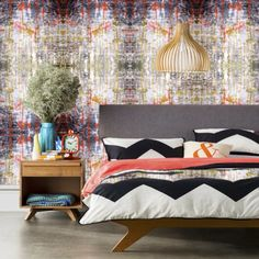 """Studio Door wallpapers are endless for your inner creativity. """"It's a colour thing"""""""