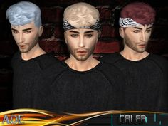 Caleb hair by Ade_Darma at TSR • Sims 4 Updates