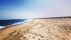 Playa desierta en la Punta de Culatra, en la Ría Formosa