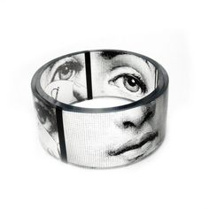 love this...great way to keep that special someone close!! Chunky Resin Photo Bangle