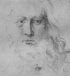 Baldung Grien, Hans: Christuskopf  c.1505