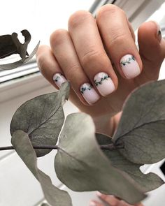 55 trendy short nails design for spring 2020 page 7 Stylish Nails, Trendy Nails, Nude Nails, Acrylic Nails, Nails Ideias, Modern Nails, Short Nails Art, Minimalist Nails, Dream Nails