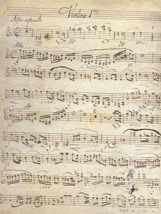 #BEETHOVEN Ludwig van Copie manuscrite du Quatuor à cordes en La mineur, Opus 132, pour deux violons, une viole et un violoncelle. C'est le deuxième des 5 derniers quatuors composés par Beethoven. Vendu aux #encheres le 17/05/06 par Groz & Delettrez