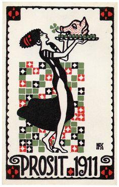 Twenty Postcards of the Wiener Werkstätte