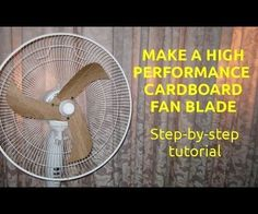 High Performance Cardboard Fan Blade