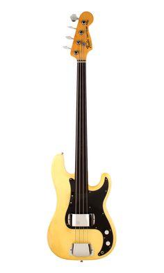Fender Precision Bass Fretless 1978