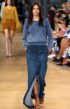 Chloe SS15 at Paris Fashion Week