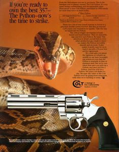 The Rock Island Auction Blog: Why is the Colt Python So Popular?Loading that magazine is a pain! Get your Magazine speedloader today! http://www.amazon.com/shops/raeind