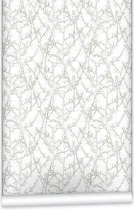 Twigs wallpaper for powder room? #renovation