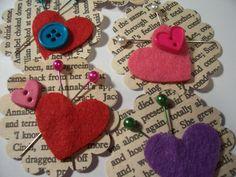 More of my handmade embellishments