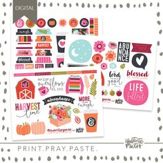 Print out this cute print, pray, paste designed by Shawna Clingerman as a enjoyable software for example your religion! Included: PDF information might be included Digital Product Accessible For Rapid Obtain Excellent for Illustrated Free Printable Stickers, Faith Bible, Illustrated Faith, Scripture Art, Free Prints, Abundance, Psalms, Past, Religion