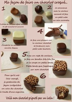 How to make a polymer clay chocolate