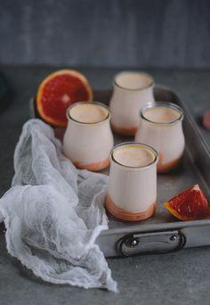 Coco e Baunilha: iogurte de toranja // grapefruit homemade yogurt