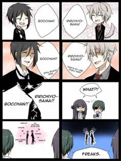 Black butler and (ugh. Forgot name of it)