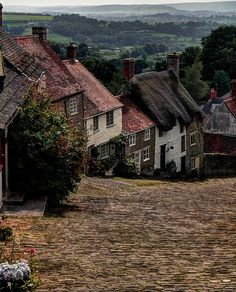 Gold Hill Shaftesbury, Dorset, UK