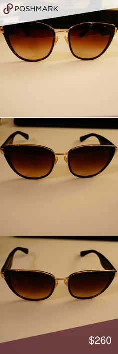 Dolce & Gabbana Sunglasses Cat Eye Gorgeous Dolce and Gabbana Sunglasses in Tortoise and Gold color.  Gently used. Small scratch on one lens, should be able to be buffed out. Other than that Great condition! These sunglasses retail at Sun Hut for $310.  These sunnies would make any outfit look chic! Made in Italy.Cat Eye. Absoulty stunning sunnies. Dolce & Gabbana Accessories Sunglasses