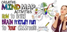 Mind mapping lets students doodle while adding pictures and visuals to their work. It's a great way to engage students in note taking. Learn more here!