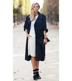 11 Fresh Ways To Wear Your Favourite Trench Coat Now via @WhoWhatWearUK