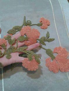 Would make a lovely irish crochet motif as well.