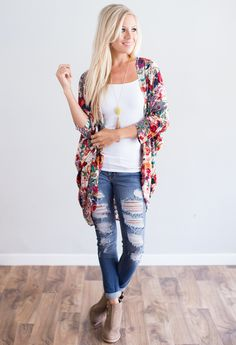 Another Love Floral Kimono