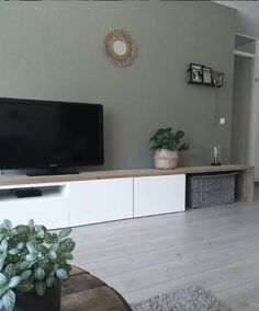 Laminate # living room, # laminate # oak, # laminate # floor # light, # wood # floor … – home accessories – Kellye Ikea Living Room, Interior Design Living Room, Living Room Designs, Living Room Inspiration, Home And Living, Home Decor, Sweet, Ikea Tv, Flatscreen
