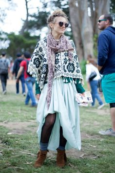Outsidelands Festival Style #fashion