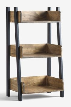 Arrange your coveted book collection in bookcases & shelves, while accentuating with quirky accessories. Handmade Wood Furniture, Diy Furniture Projects, Metal Furniture, Diy Wood Projects, Pallet Furniture, Home Furniture, Furniture Design, Home Decor Kitchen, Diy Home Decor