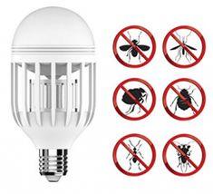 Bug Zapper Light Bulb with LED light bulb, Fly Killer Mosquito Killer Machine, Bug Zapper, Buyers Guide, Light Bulb, Bugs, Bulb Lights, Lightbulb, Insects, Bulb