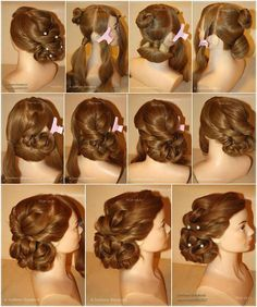 Evening Hairstyle.