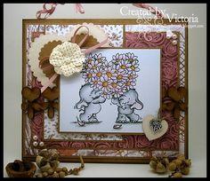 Flower Heart ~ Wild Rose Studio