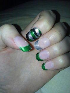 Slytherin nails