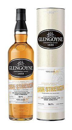 Cask Strength Glengoyne Single Malt Scotch Whisky - Glengoyne Distillery