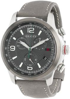 Gucci Men's Gucci Timeless Diamond Pattern Anthracite Dial Watch YA126242 - http://watchesntime.com/gucci-men-s-gucci-timeless-diamond-pattern-anthracite-dial-watch-ya126242/