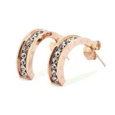 anartxy / joyas en acero  Pendientes / Earrings / Brincos  #SteelJewel #JoyasEnAcero #JóiasEmAço