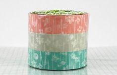 Small Flower Washi Tape Set of 3 Japanese Washi Paper - PrettyTape by PrettyTape on Etsy https://www.etsy.com/listing/62640865/small-flower-washi-tape-set-of-3