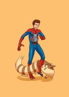 Peter Parker's Pokemon team.