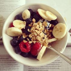 Fruits + cereals.