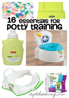 essentials for potty training