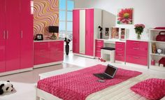 Pink Girl Bedroom Ideas