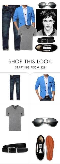 """Hello Old Friend"" by danni-foley on Polyvore featuring Hollister Co., Dolce&Gabbana, Tod's, Vans, men's fashion and menswear"