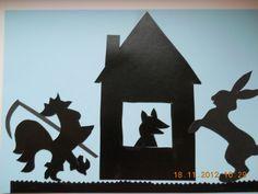 Детские поделки - Аппликация Сказочные тени