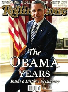 Rolling Stone Magazine Special Edition 2016 The OBAMA Years Collectors Issue